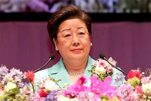Mrs. Hak Ja Han Moon, Co-founder WFWP